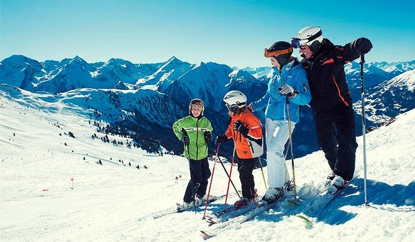 Skiurlaub mit Familie